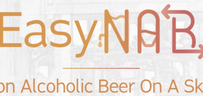 EasyNAB – Fare una birra artigianale analcolica di qualità? Adesso è facile.