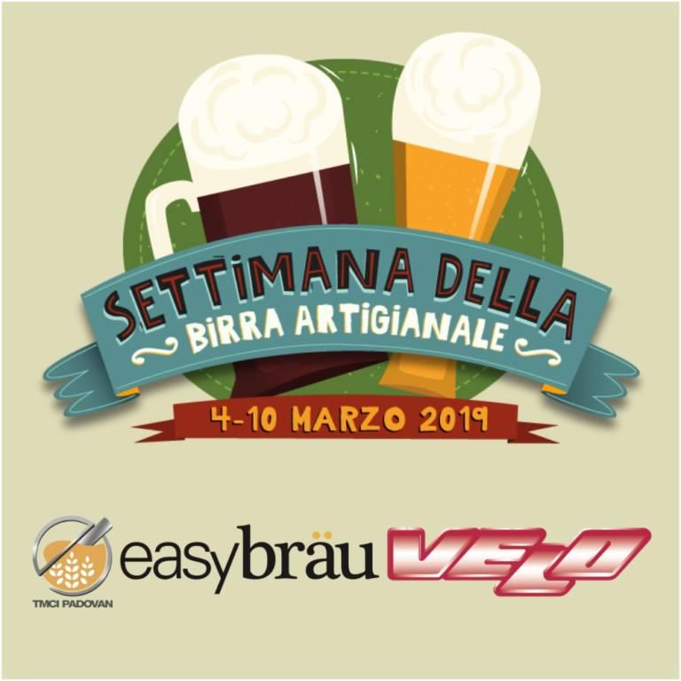 "Easybräu-Velo official sponsor of ""Settimana della Birra 2019"""