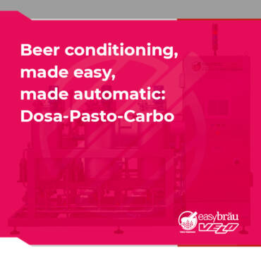 Beer conditioning, made easy, made automatic: Dosa-Pasto-Carbo